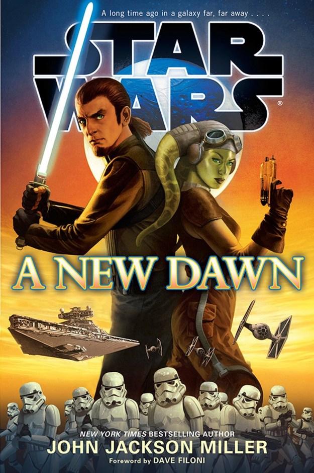 Star Wars: A New Dawn Book Cover