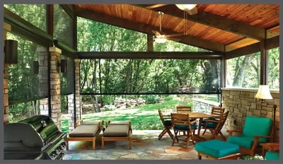 exterior insect screen blinds decor fla