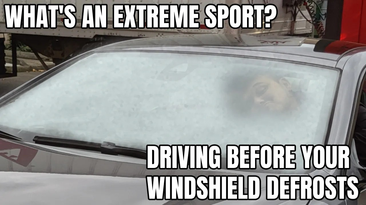Extreme Sport Season Is Here