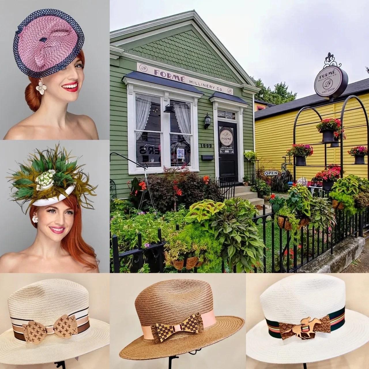 Forme Millinery Co Milliner Handmade Hats