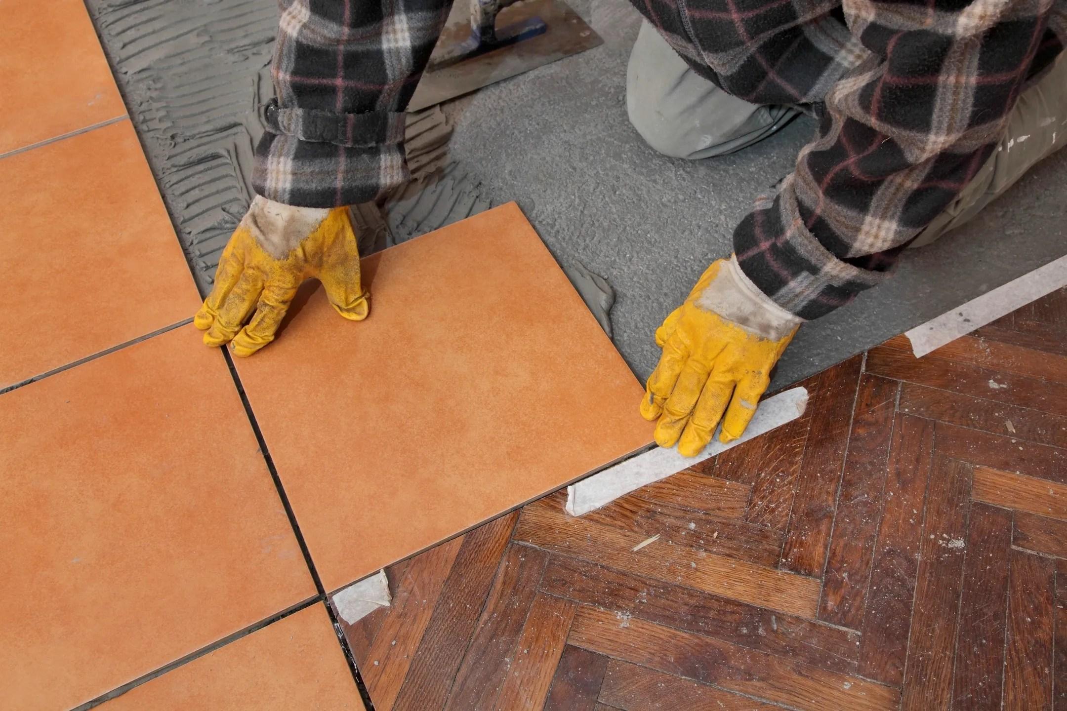 expert tile installation