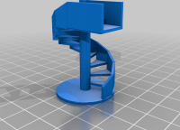 Staircase 3D Models To Print Yeggi Page 2 | 9 Ft Spiral Staircase | Lowes | Toronto V3 | Lowes Com | Wood Treads | Basement Stairs