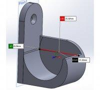 rideaux 3d models to print yeggi