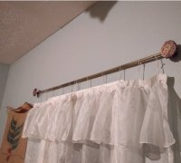 curtain rod hanger 3d models to print