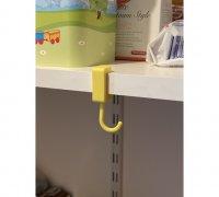 shelf hook 3d models to print yeggi