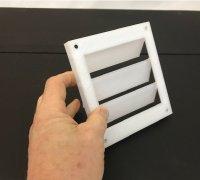 louver vent 3d models to print yeggi
