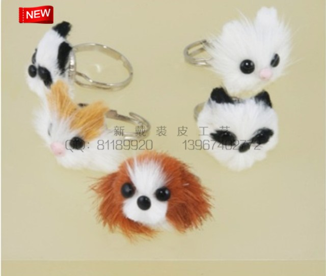 Serving Korean Pussy Ring The Ring Ring Fox Dog Head Panda Rings Wholesale