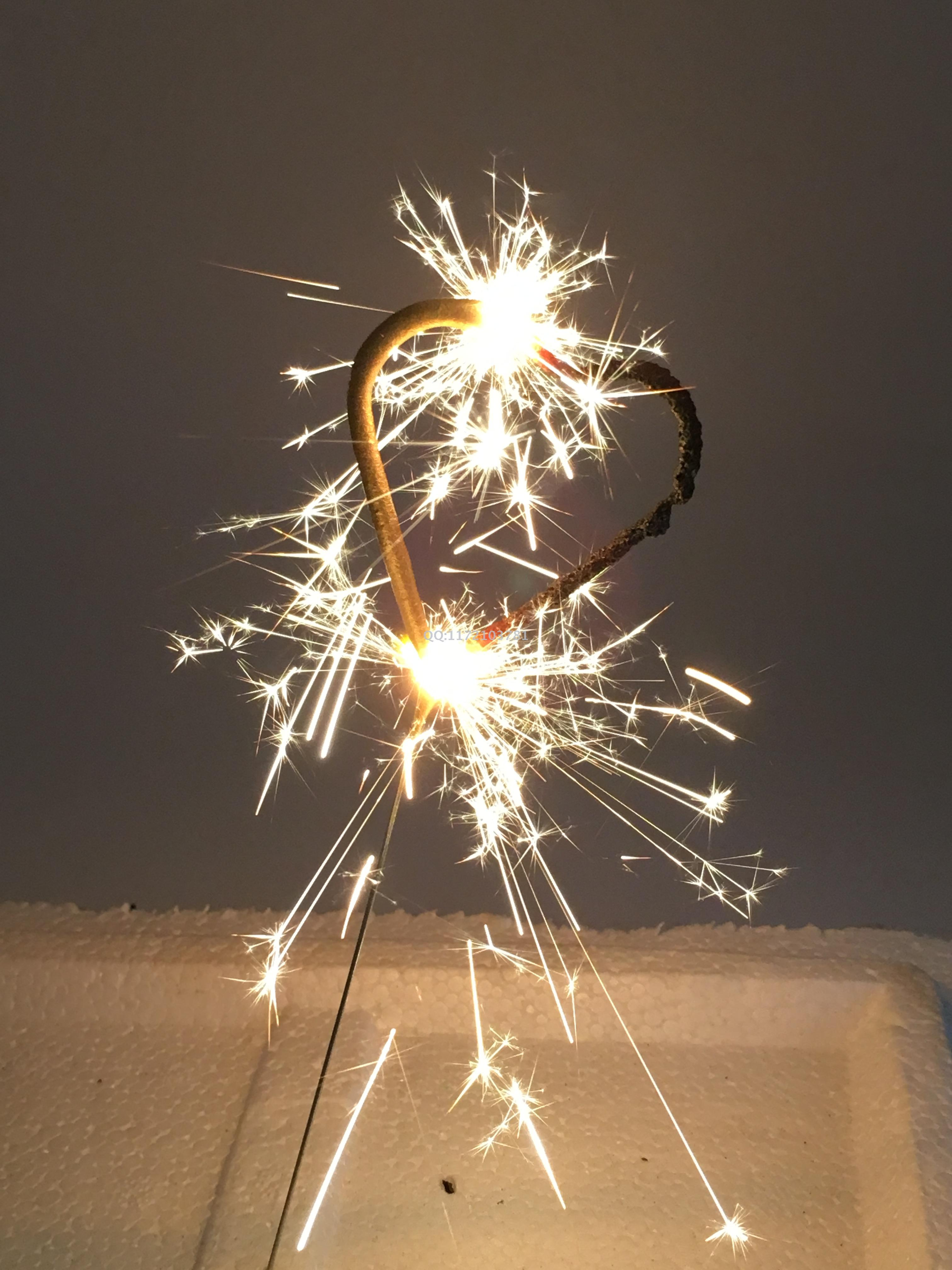 Supply Birthday Candle Cake Fireworks Love Cold Fireworks