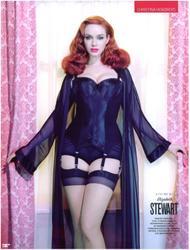 Christina Hendricks shows her lovely boobs in GQ (British)  Magazine - Hot Celebs Home