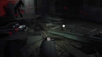 Resident Evil 7 la hache