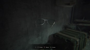 Resident Evil 7 lunettes à rayons X