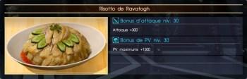 Final Fantasy XV risotto de ravatogh