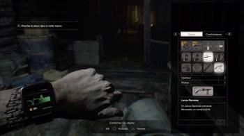 Resident Evil 7 lance-flamme