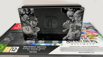 Nintendo Switch édition Super Smash Bros. Ultimate