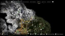 Horizon Zero Dawn tous les camps de bandits sécurisés