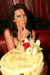 Audrina Patridge celebrates her 25th Birthday At Liquid Pool Lounge At Aria Resort & Casino at CityCenter in Las Vegas - Hot Celebs Home