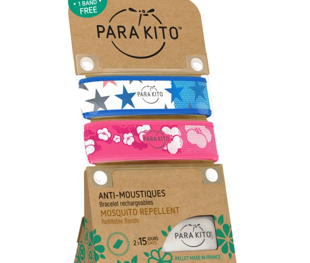 Authorized Authentic France Palo Mosquito Repellent Bracelet Baby Pregnant Women Adult Mosquito Mosquito Bracelet Lovers Set Blue Star Cherry Blossom