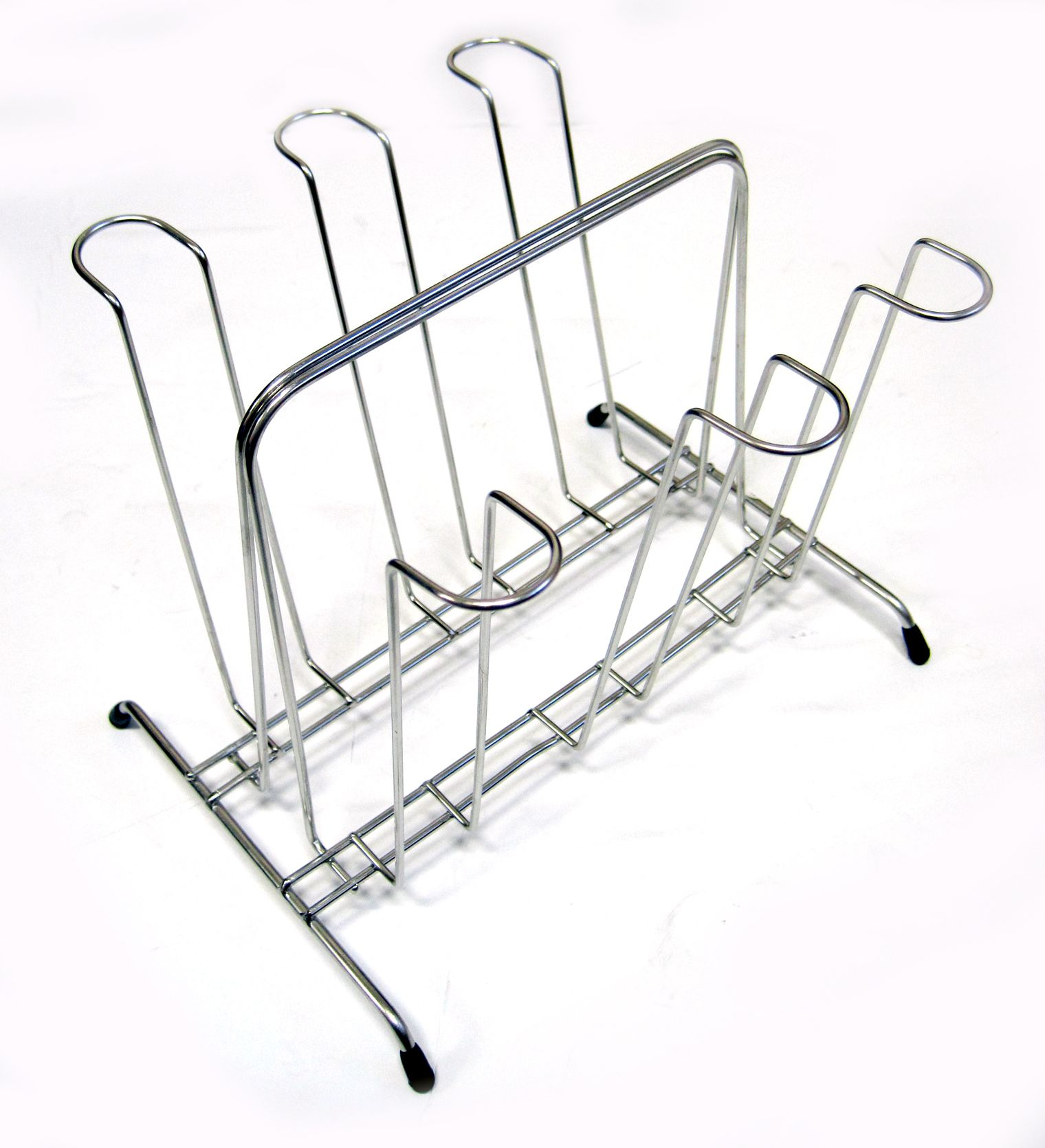 New Stainless 6 Mug Cups Rack Cup Stand Tea Coffee Cup