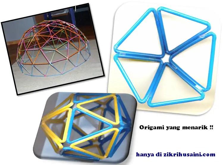 origami straw, straw, gambar straw, straw cubik, the cubic straw, the straw artistic, straw pentagon