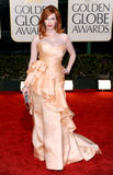 Christina Hendricks show off her big boobs in low-cut dress as she attends 67th Annual Golden Globe Awards - Hot Celebs Home