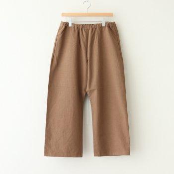 EASY PANTS #BROWN [50654] _ YAECA   ヤエカ