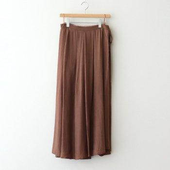 タックラップスカート #CAMEL [TBAS-173] _ TICCA | ティッカ