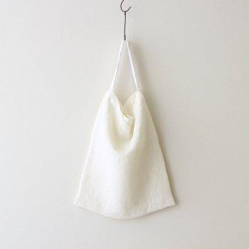 LINEN WAFFLE BAG #WHITE [PR21SS-BG013] _ Select - Accessories | 服飾小物