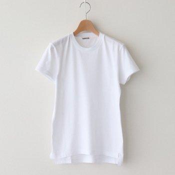 SEAMLESS CREW NECK TEE #WHITE [A00T04ST] _ AURALEE | オーラリー