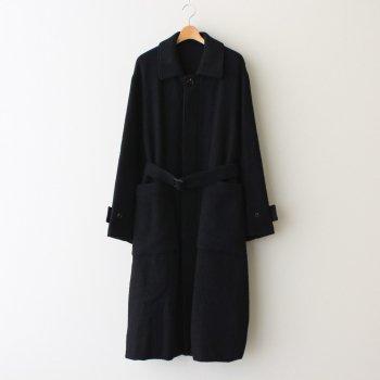 OVERSIZED BLANKET COAT #BLACK [ST.275-1] _ stein | シュタイン