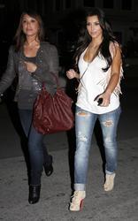 Kim Kardashian cleavagy at Prime One Twelve in Miami - Hot Celebs Home