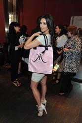 Kim Kardashian leggy in short tight dress launches her signature fragarance in Canada - Hot Celebs Home