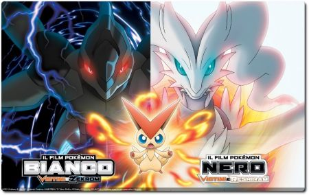 Pokémon Movie 14.2 - Nero - Victini E Reshiram (2011) BDMux 720P AAC - ITA JAP