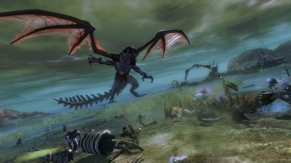 GUILD WARS 2 - Screenshots to support the announcement of the Tequatl Rising update - Live in game Sept 17 ! (2/6)