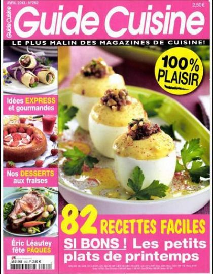 Guide Cuisine N°262 Avril 2013