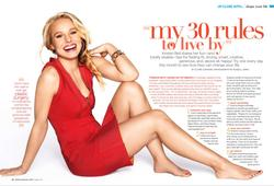 Kristen Bell in bikini on cover of Shape magazine - Hot Celebs Home