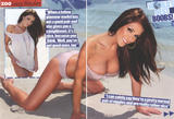 Lucy Pinder posing in bikini showing her big boobs in Aussie Zoo Magazine - Hot Celebs Home