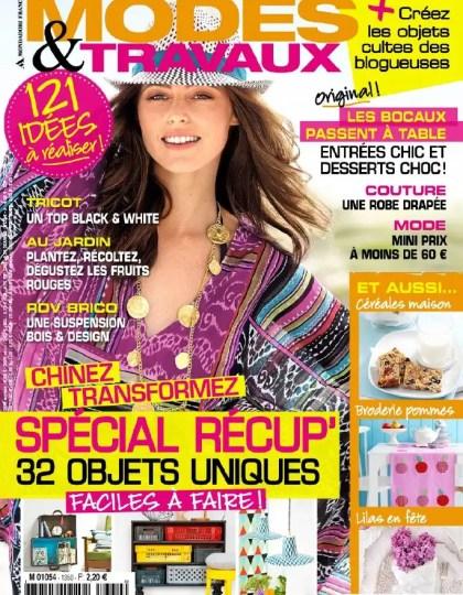 Modes & Travaux N°1350 Mai 2013