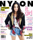Megan Fox in Nylon magazine - Hot Celeb Home