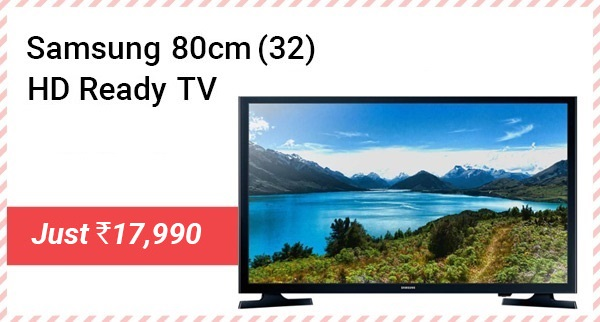 Samsung HD Ready LED TV - Just Rs.17,990 + Up to Rs.6000 off on Exchange