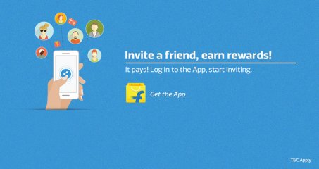 Flipkart Refer & Earn- Get Rs.25 On Sign Up And Get Rs.25 Per Refer