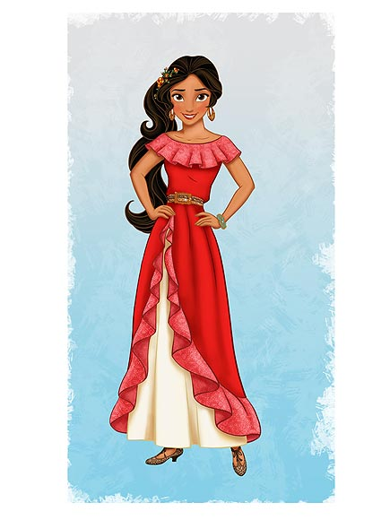 Princess Elena of Avalor: First Latina Disney Princess
