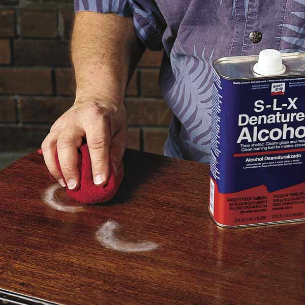 Water Stains How To Fix A Furniture Finish This Old House
