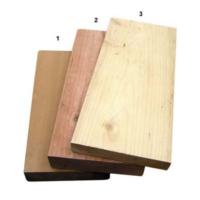 redwood & cedar decking
