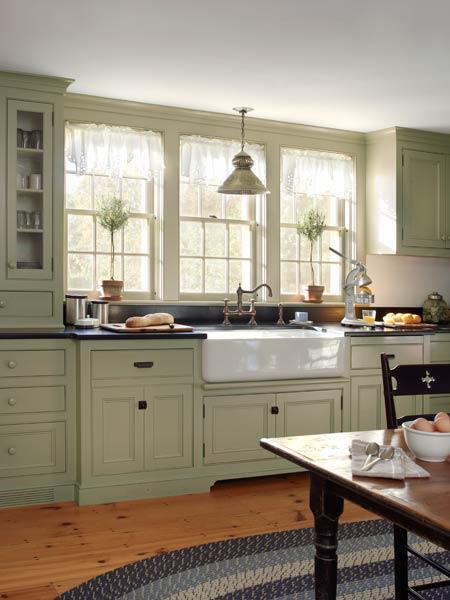 Spacious Period Kitchen Farmhouse Addition Whats Old