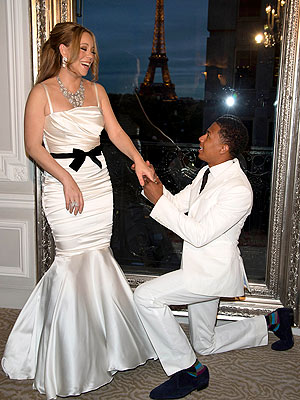 Mariah Carey and Nick Cannon Pascal Le Segretain/Getty