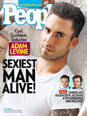 Adam Levine, People's Sexiest Man Alive and The Voice Season 5's winningest Coach
