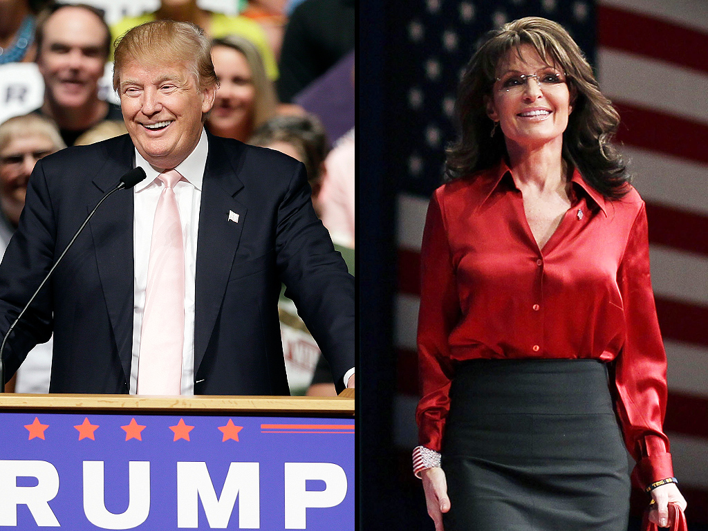 Donald Trump Would Add Sarah Palin to Administration