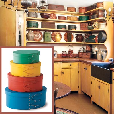 Shaker Boxes Create A Shaker Style Kitchen This Old House