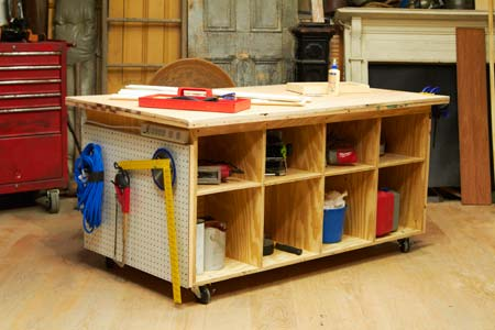 How To Build A Tool Bench This Old House