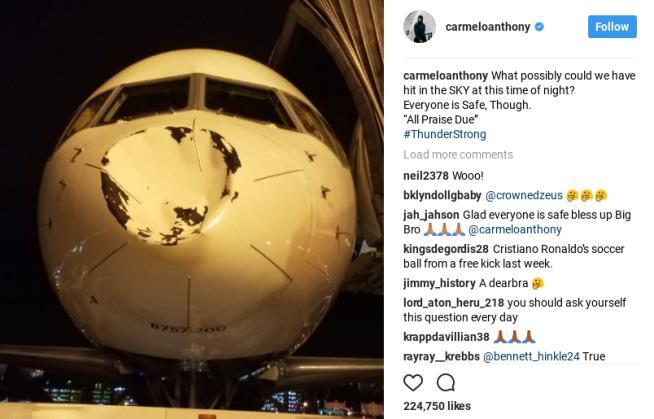 Image result for thunder dent on plane